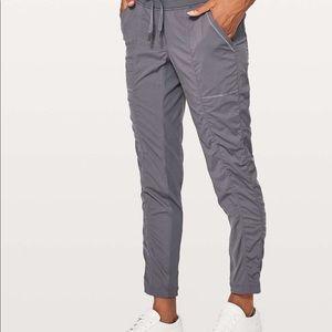 Lululemon Street to Studio II grey pants 12